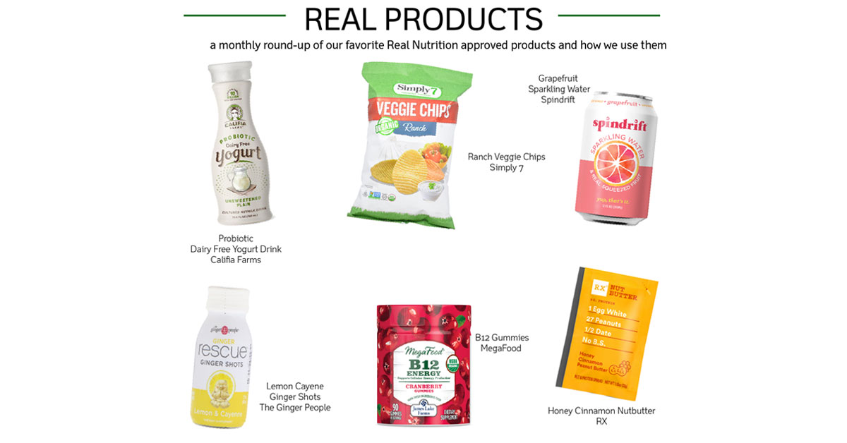 real nutrition amy shapiro real products july